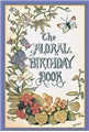 Floral Birthday Book