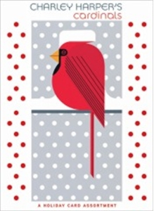 Charley Harper's Cardinals - A Holiday Card Assortment
