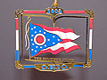 Ohio Flag Ornament