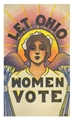 Let Ohio Women Vote Poster