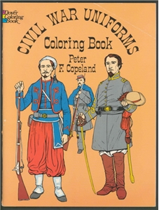 civil war uniforms coloring book ohio history store