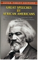 Great Speeches by African Americans book